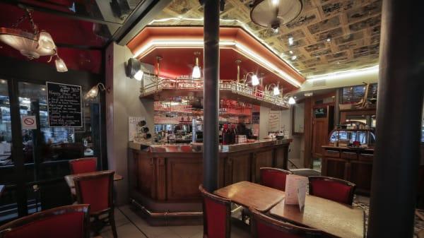 Aperçu du bar - Lili et Riton, Paris