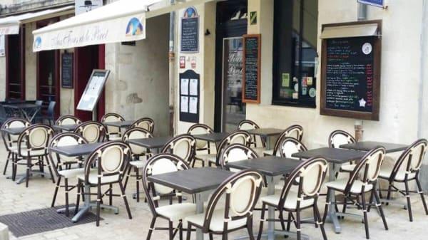 terrasse - Aux Tours de la Pérot, La Rochelle