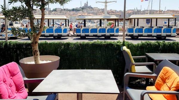 Terrasse - A Modo Mio, Marseille