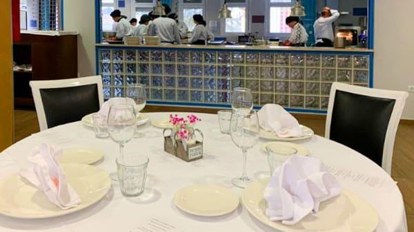 Vista sala - Sweet - Escuela de Hostelería Simone Ortega, Móstoles