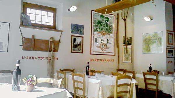 La sala - Osteria La Gramola, Tavarnelle Val di Pesa