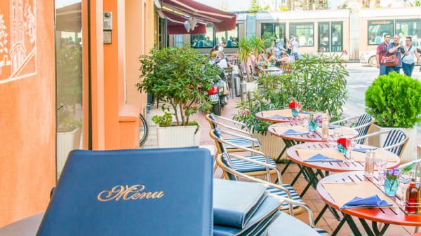terrasse - Le VLT, Nice