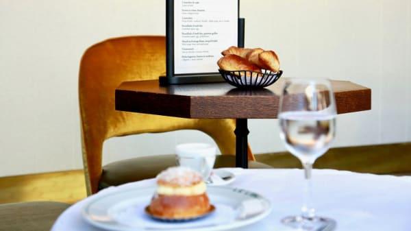 Détail de la table - Le Liber'tea, Nice