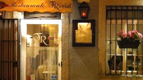 Entrada - Restaurante Trivial, Lisboa