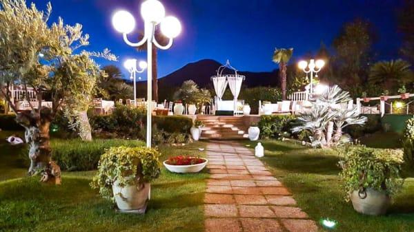 Il giardino en la entrata - Villa Venere