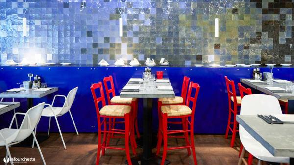 Tables dressées - Medi Terra Nea, Paris
