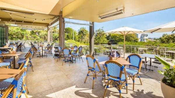 Laguna  Bistro Deck Area - Noosa Reef Hotel, Noosa Heads (QLD)