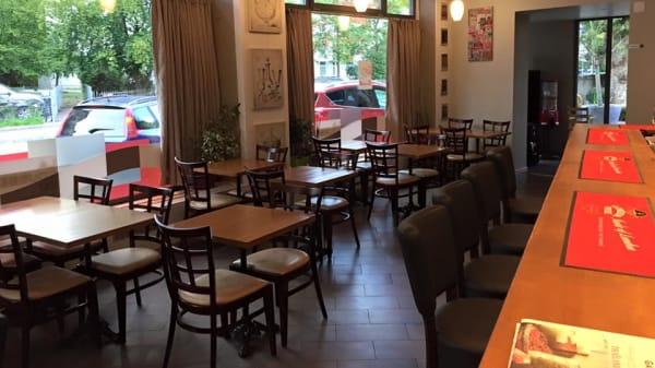 Salle - La Courbe du Goût, Café Restaurant de Grange-Canal, Chêne-Bougeries