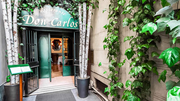 entrata - Don Carlos, Milan