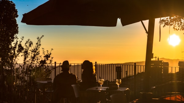Il tramonto ai Ponti Bistrot  - I Ponti Volterra Bistrot, Volterra