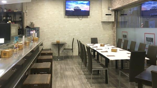 Vista sala - Hello Café, Madrid