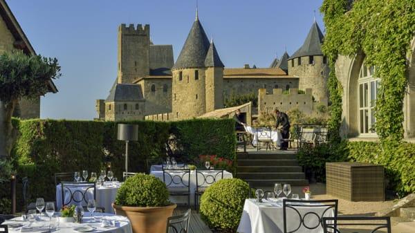 Terrasse - Restaurant La Barbacane, Carcassonne