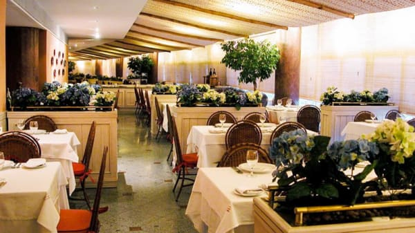 Vista da sala - Aspargus Restaurante, Rio de Janeiro