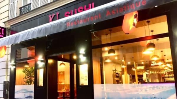 Devanture - Ki Sushi, Paris