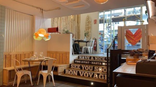Sala del restaurante - Somewhere Aribau, Barcelona