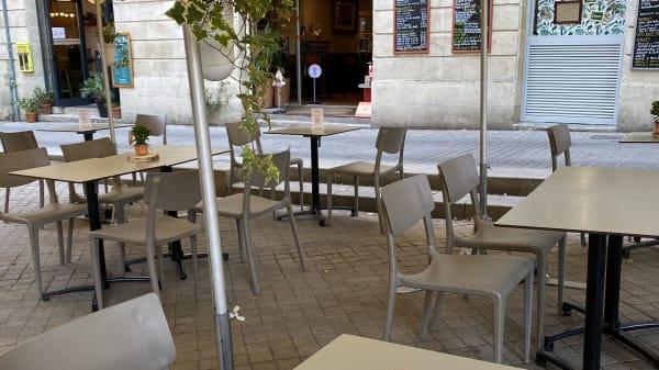 Terrasse du restaurant - Comptoir Christoly, Bordeaux