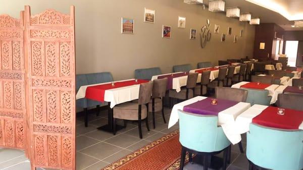 Salle du restaurant - Al-Hamra, Roubaix