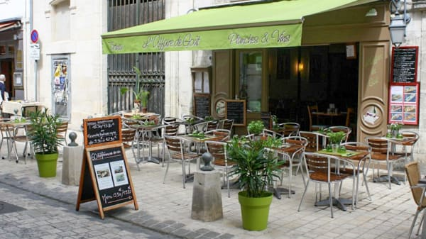 terrasse - L'Affaire de Goût, La Rochelle