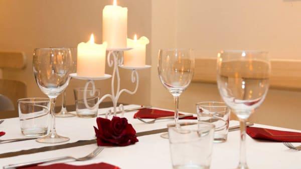 Sala del ristorante - Cibo, Aosta
