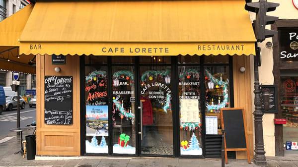 Entrée - Café Lorette, Paris