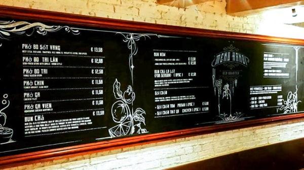 Het restaurant - Hanoi Old Quarter, Amsterdam