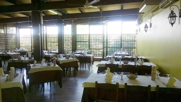 sala interna - Trattoria Pizzeria al Tiglio, Cento