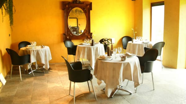 Vista mesas - Hotel Font del Genil, Arseguel
