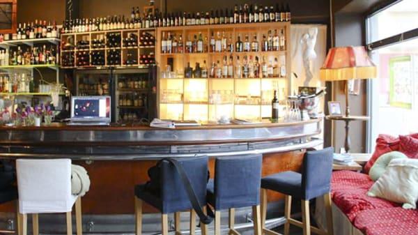 Bar view - Tryffelfabriken, Stockholm