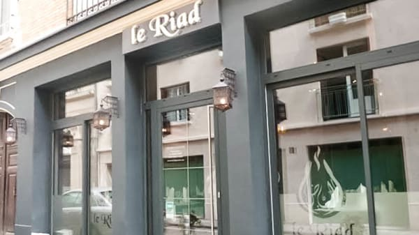 Vue devanture - Le Riad, Reims