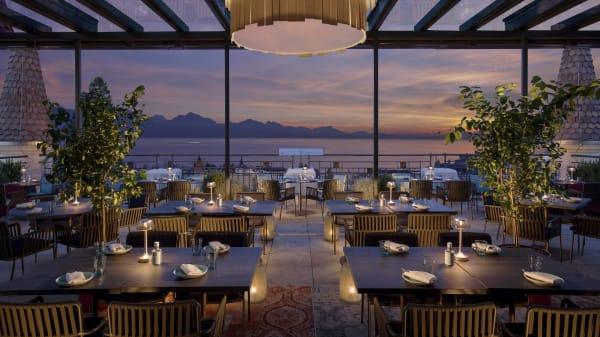 Account Royal Savoy - Sky Lounge - L'après Sky - Hôtel Royal Savoy, Lausanne