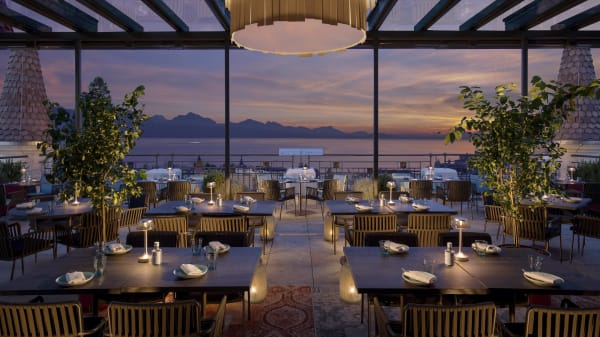 Account Royal Savoy - Sky Lounge - Sky Lounge - Hôtel Royal Savoy, Lausanne
