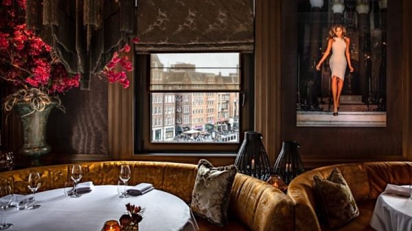 Dam Square Seating - Restaurant Bougainville, Amsterdam