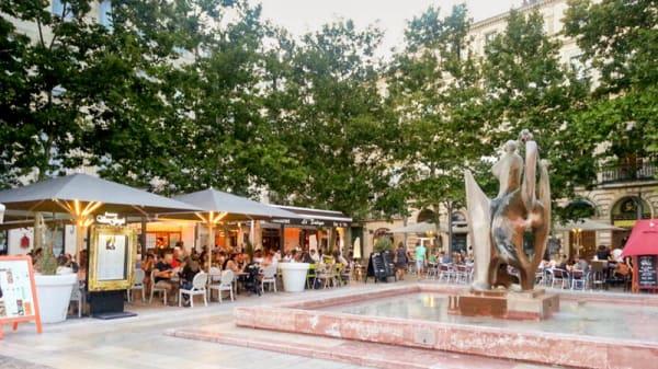 Terrasse - Le Van Gogh, Montpellier