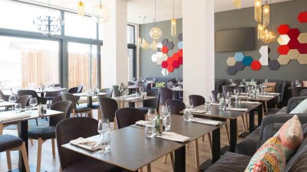Vue de la salle - Gourmet Bar Novotel Charleroi Centre, Charleroi