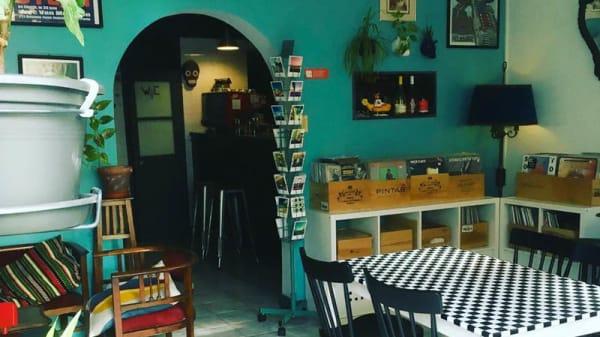 Vista da sala - Do Vigario Pub e Records, Lisbon