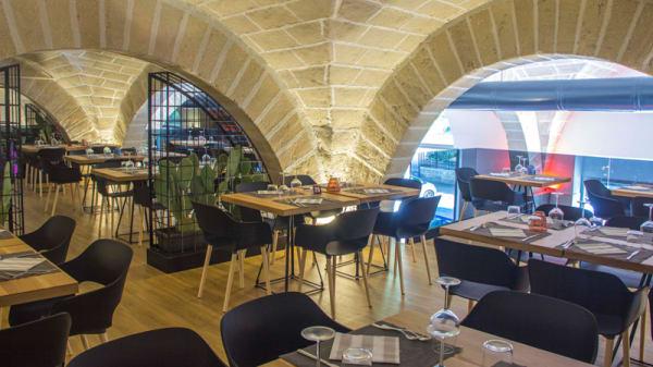Vista sala soppalco - SeiGradi Steakhouse Hamburgeria, Trapani