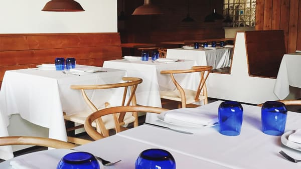 Vista sala - Restaurante Els Set (Sants), Barcelona