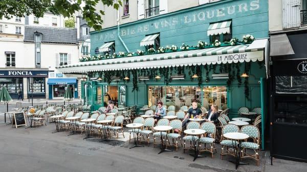 Terrasse - La Marquise, Paris