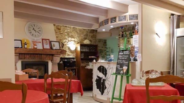 Salle de restaurant - Le Solveig, Quettehou