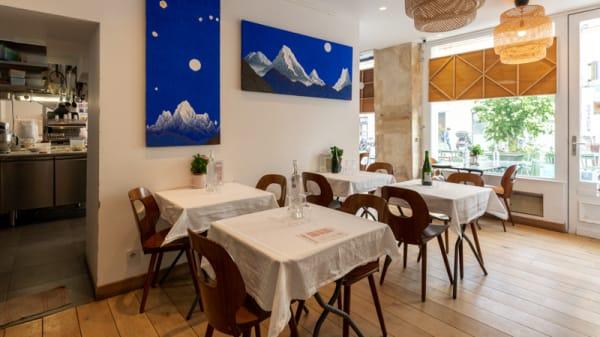salle - Le Petit Café du Pain Journel 100% bio, Versailles
