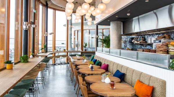 Het restaurant - Café Pontsteiger, Amsterdam