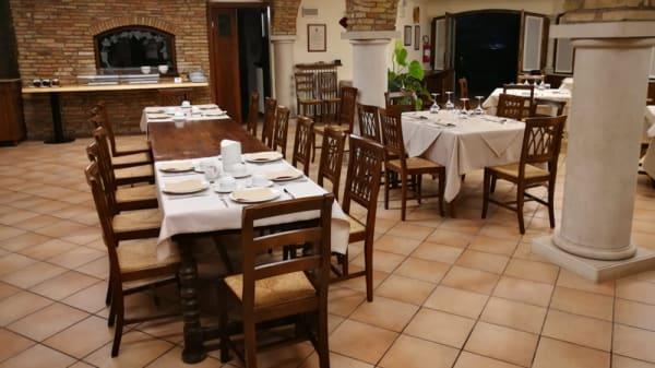 Vista sala - Osteria da Carlo, Pozzolengo