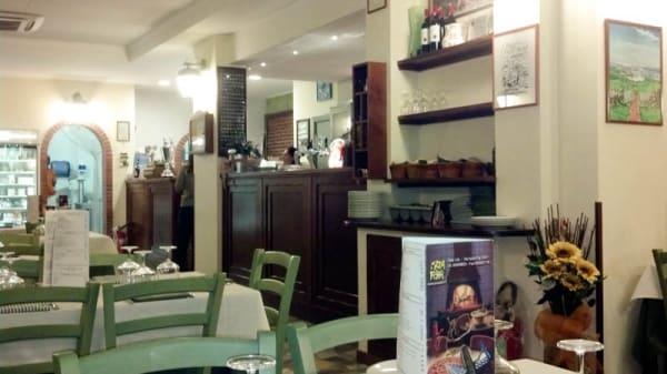 La sala - Pizza e Fichi, Rome