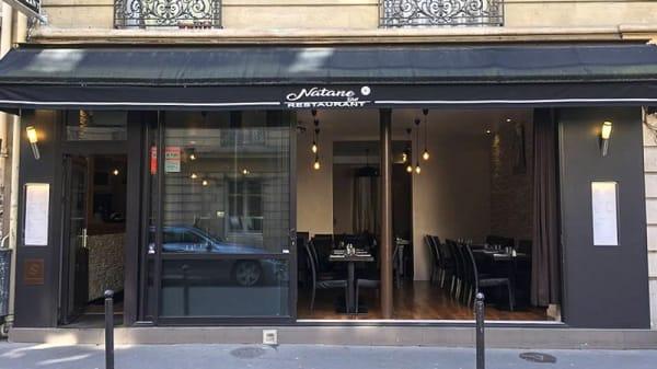 Devanture - Natane Grill, Paris