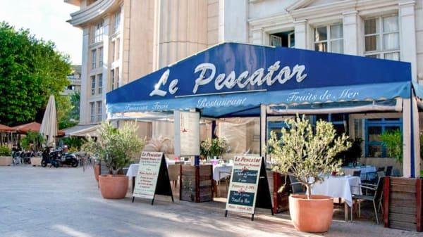 Devanture - Le Pescator, Montpellier