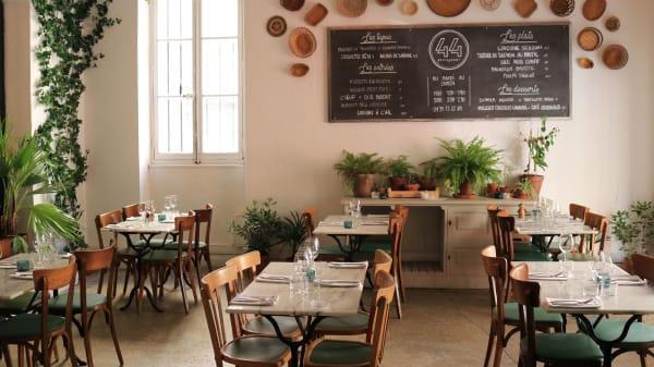 Le 44, bistrot méditérranéen, restaurant à Marseille - Le 44, Marseille