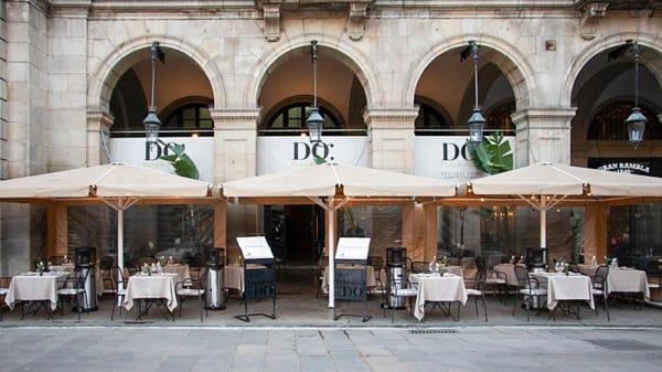 Fachada - La cuina del DO, Barcelona