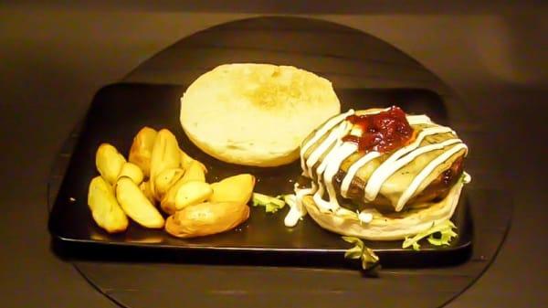 Hamburguesa - Angus Steak House, Madrid