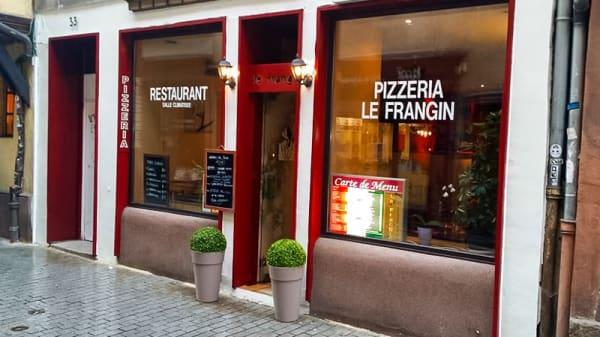 facade - Le Frangin, Strasbourg