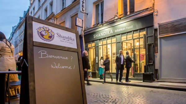 Extérieur - Shandika, Paris